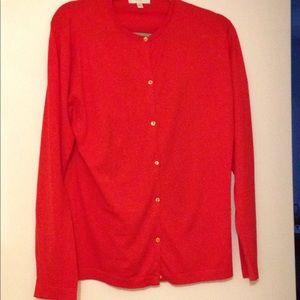 John Smedley 100 percent cotton cardigan